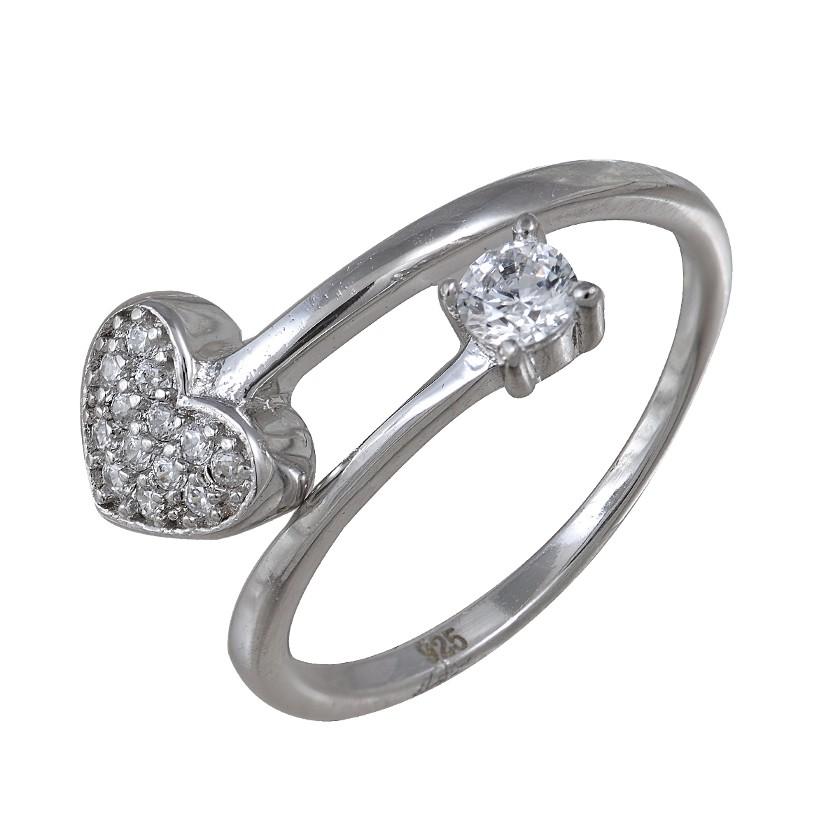 ΔΑΧΤΥΛΙΔΙΑ   Δαχτυλίδι ασημένιο 4You με λευκά ζιργκόν 47aa66b2475