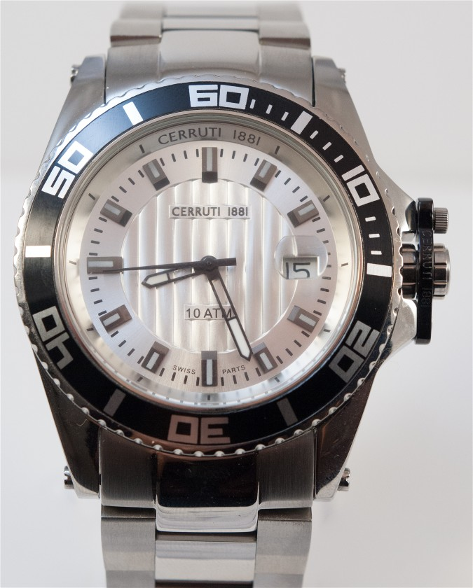 CERRUTI   Cerruti σπορ ανδρικό ρολόι με μπρασελέ 46b1e04dd0e